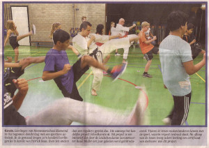 scan krant schoolkarate